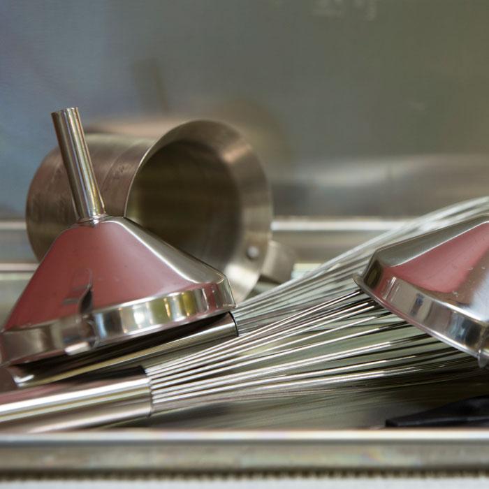Sterilizing lab materials