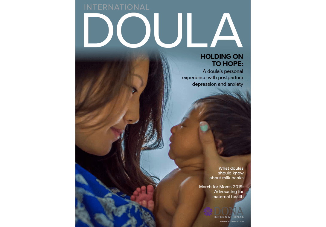 Doula magazine cover