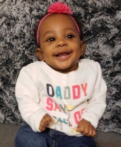Baby Aaliyah a donor recipient