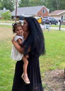 Khaleesia and Mom