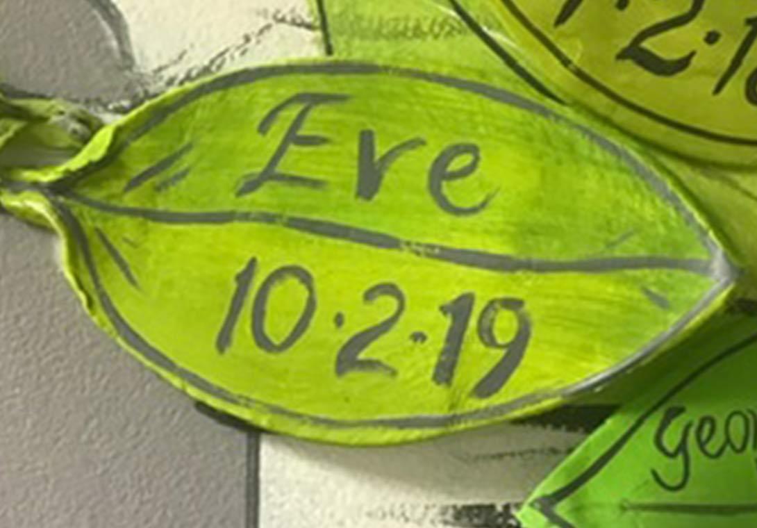 Eve written on a bereavement leaf